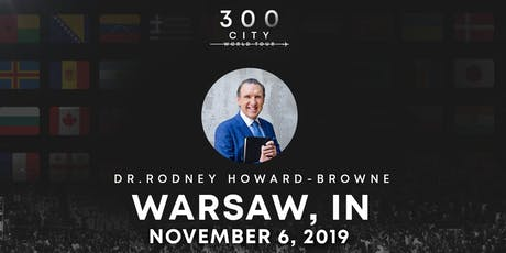 Rodney Howard-Browne in Warsaw, Indiana tickets