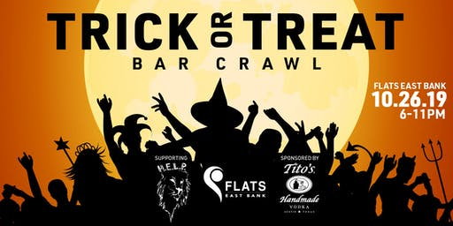Flats East Bank – Adult Trick-or-Treat Costume Bar Crawl
