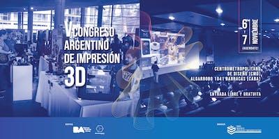 V Congreso Argentino de Impresión 3D