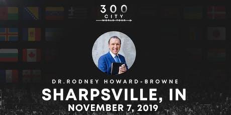 Rodney Howard-Browne in Sharpsville, Indiana tickets