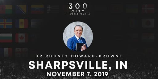 Rodney Howard-Browne in Sharpsville, Indiana