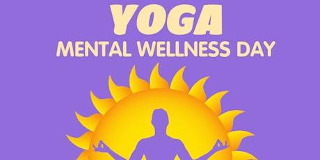 YOGA - Mental Wellness Day tickets