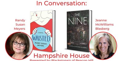 Author Talk & Signing with Jeanne McWilliams Blasberg & Randy Susan Meyers