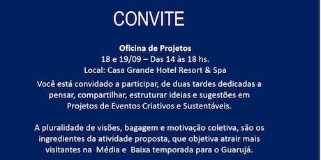 Oficina - Projetos de Eventos Criativos e Sustentáveis | Guarujá ingressos