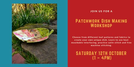 Patchwork Leaf Dish Workshop tickets