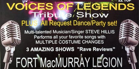 Voice of Legends Tribute Show tickets
