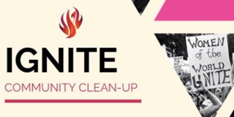 IGNITE Community Cleanup tickets
