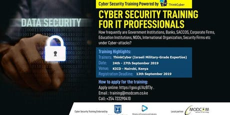 CYBER SECURITY TRAINING FOR IT PROFESSIONALS tickets