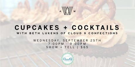Cupcakes and Cocktails tickets