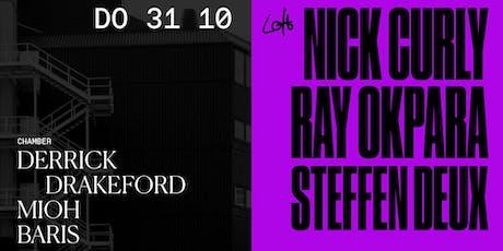 Nick Curly, Ray Okpara, Steffen Deux uvm. im Loft Club Tickets