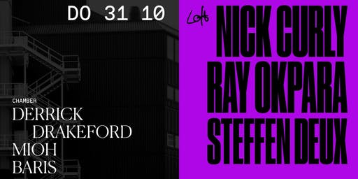 Nick Curly, Ray Okpara, Steffen Deux uvm. im Loft Club