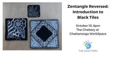Zentangle Reversed: Introduction to Black Tiles