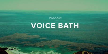 The York Manor Presents The Vocal Sound Bath  tickets