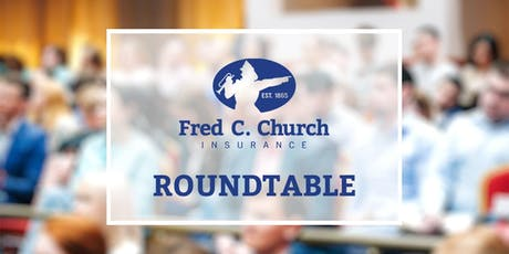 Fred C. Church Risk Management Roundtable tickets