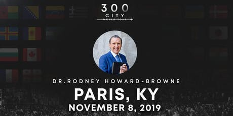 Rodney Howard-Browne in Paris, Kentucky tickets