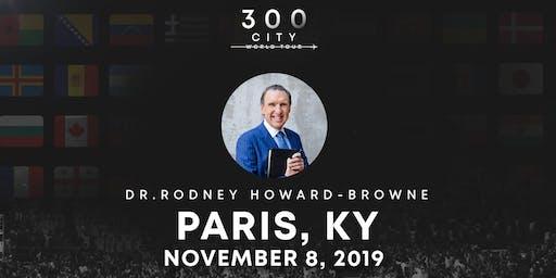 Rodney Howard-Browne in Paris, Kentucky