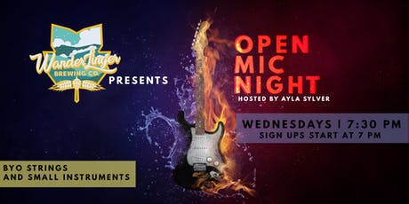 Open Mic & Jam Night - Every Wednesday tickets