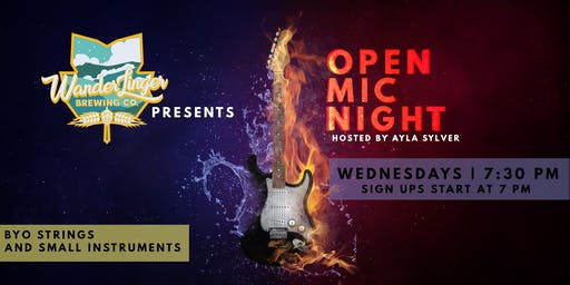 Open Mic & Jam Night - Every Wednesday