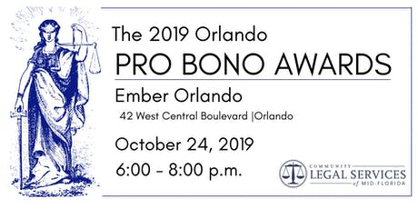 CLSMF Pro Bono Awards Reception 2019 Orlando tickets