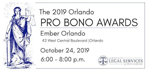 CLSMF Pro Bono Awards Reception 2019 Orlando