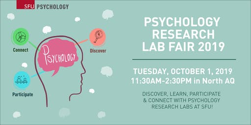 Psychology Research Lab Fair 2019