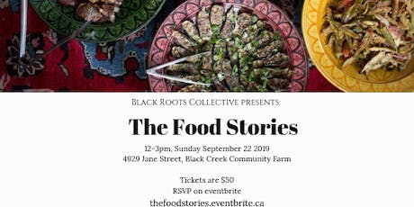 The Food Stories tickets