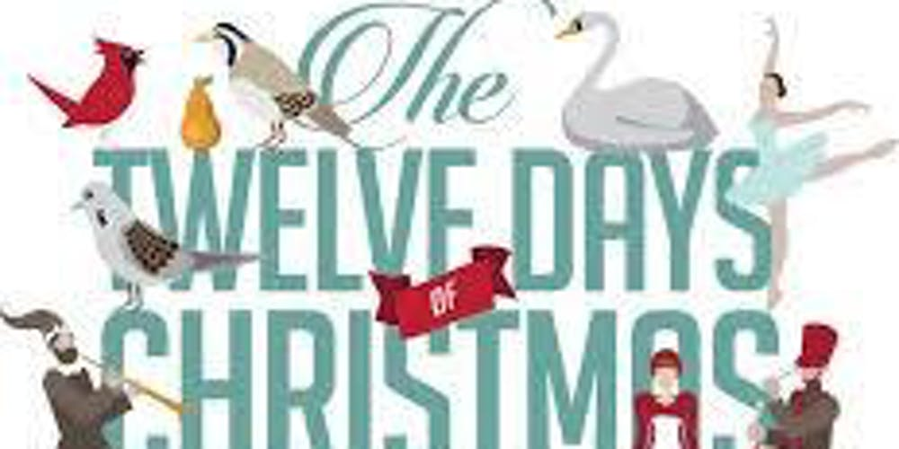 Days To Christmas.The 12 Days Of Christmas