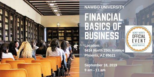 NAWBO University: Financial Basics of Business