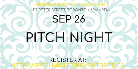 Entrepreneurs Point: Pitch Night tickets