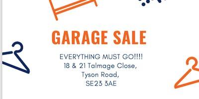 Garage sale (boot sale/table top sale)