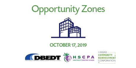 Update on Understanding Hawaii's Opportunity Zones tickets