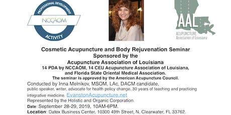 Certificate in Cosmetic Acupuncture Seminar. EvanstonAcupuncture.net tickets