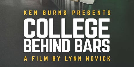 College Behind Bars Screening and Panel Discussion tickets