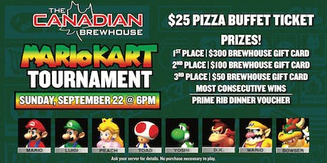Lloydminster Mario Kart Tournament tickets