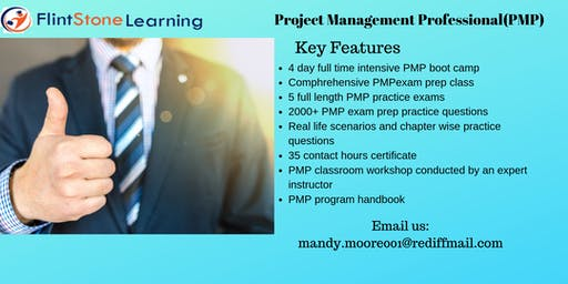 PMP Training workshop in Rochester, NY