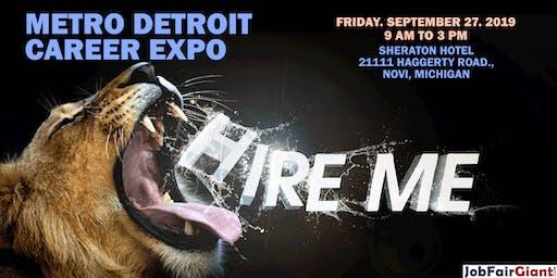 Novi-Detroit Job Fair September 27, 2019
