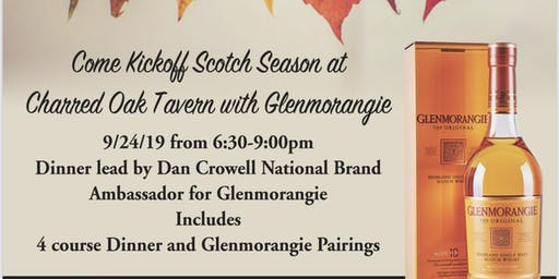 Glenmorangie Scotch Dinner