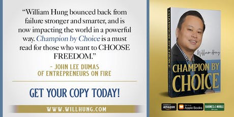 Book Signing for Champion By Choice with William Hung tickets
