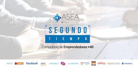 SEGUNDO TIEMPO: COMUNIDAD DE EMPRENDEDORES + 40  entradas