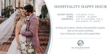 Hospitality Happy Hour at Dr. Phillips House tickets