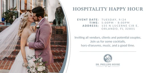 Hospitality Happy Hour at Dr. Phillips House