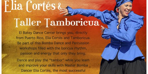Percussion and Dance workshop with Tamboricua from Puerto Rico