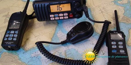 Formation en radio maritime VHF/ASN & resto - Novembre 2019 (F01) billets