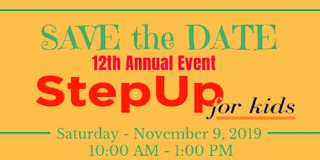 12th Annual Step Up for Kids tickets