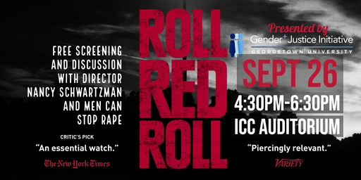 Roll Red Roll  Screening & Discussion: Let's talk about Rape Culture