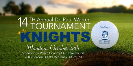 14th Annual Dr. Paul Warren Memorial Tournament of the Knights tickets