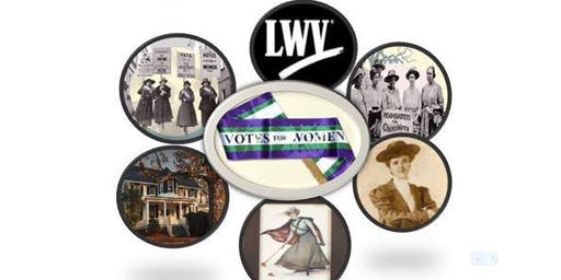 SUFFRAGE CELEBRATION OF 100TH ANNIVERSARIES OPEN HOUSE