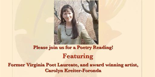 Poetry and Art with Former Virginia Poet Laureate, Carolyn Kreiter-Foronda
