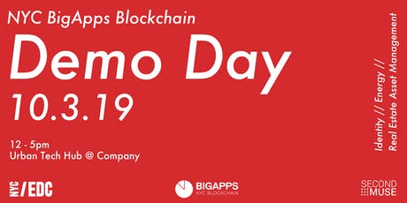 NYC BigApps Blockchain Demo Day tickets