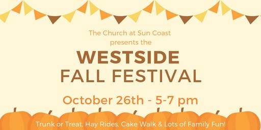 2019 Westside FALL FESTIVAL - Vendor Registration